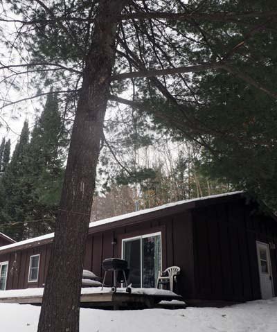 Deer Trail Cabin, Delta Lake Wisconsin